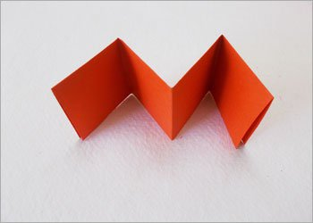Блокнот оригами-сложите бумагу гармошкой