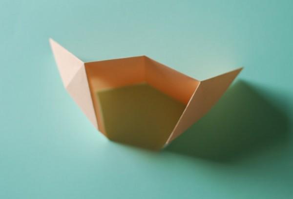 Домик оригами-поставьте на стол