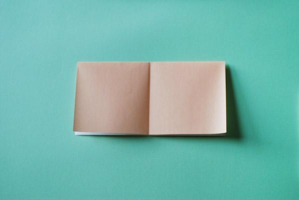 Домик оригами-разверните бумагу