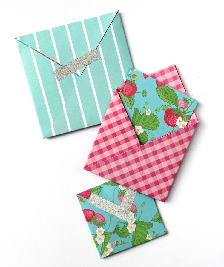 Открытки и конверты своими руками материалы