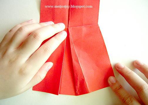 Платье оригами-раздвиньте складки платья