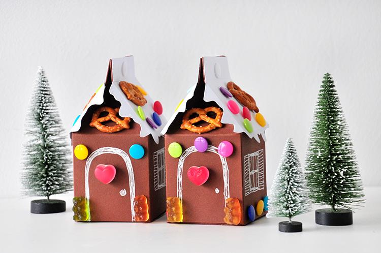 Коробочка для сладостей из бумаги своими руками