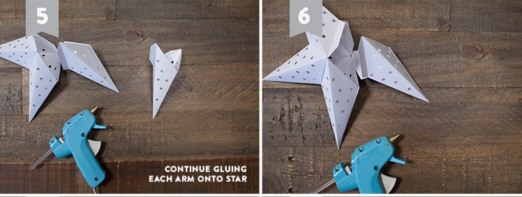 Собираем звезду из 4-х частей