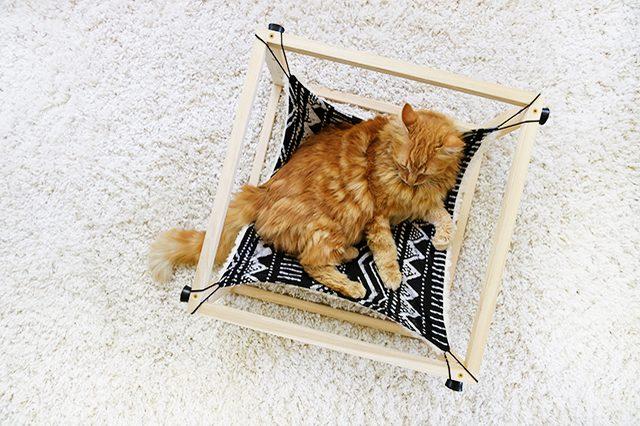 Гамак для кота - готовая работа