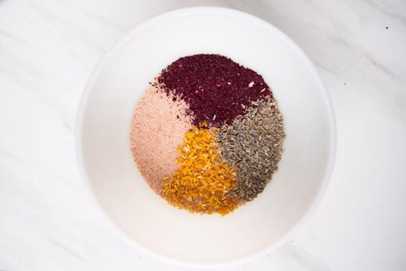 Домашний скраб для тела - сухие ингредиенты