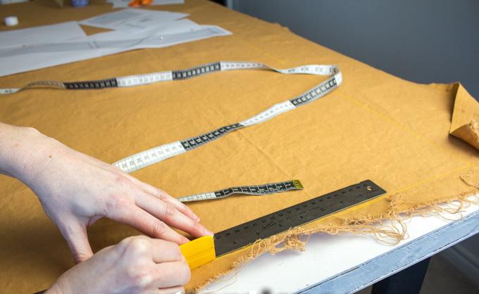 Как сшить фартук своими руками - вырежьте детали