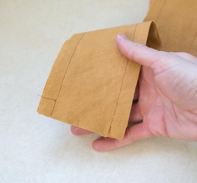 Как сшить фартук своими руками - сшейте вместе детали для лямок