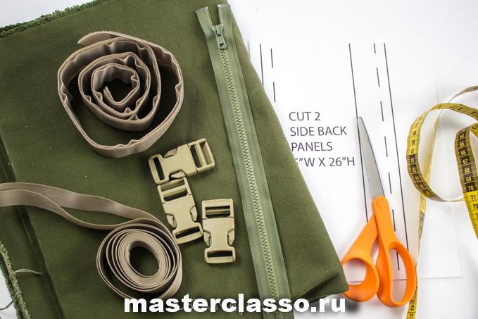 Как сшить рюкзак - материалы