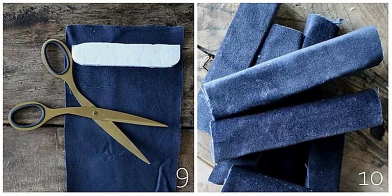 Шкатулка для украшений своими руками - обклейте губки тканью