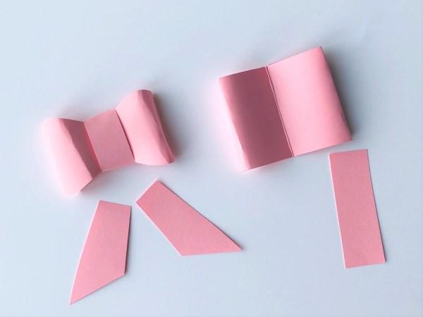 Елочные украшения из бумаги своими руками - добавьте оформление на бантик
