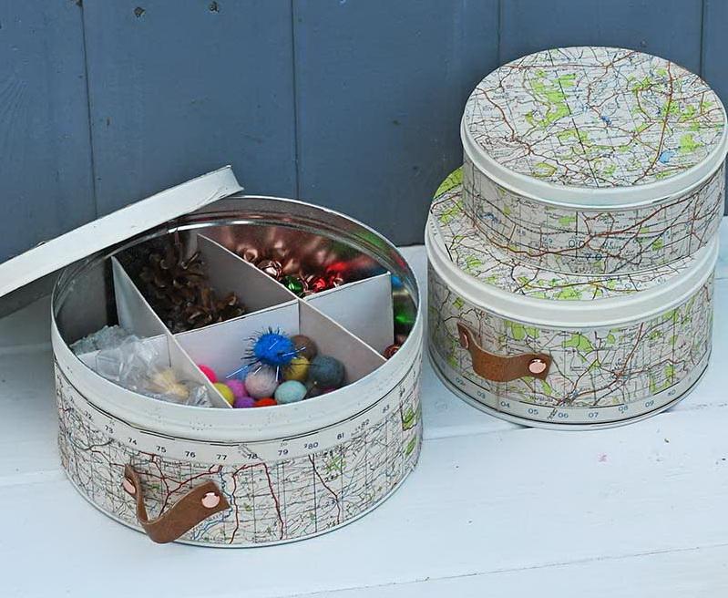 Коробка для хранения вещей своими руками - готовая работа