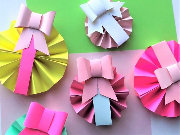 Елочные украшения из бумаги своими руками - готовые изделия