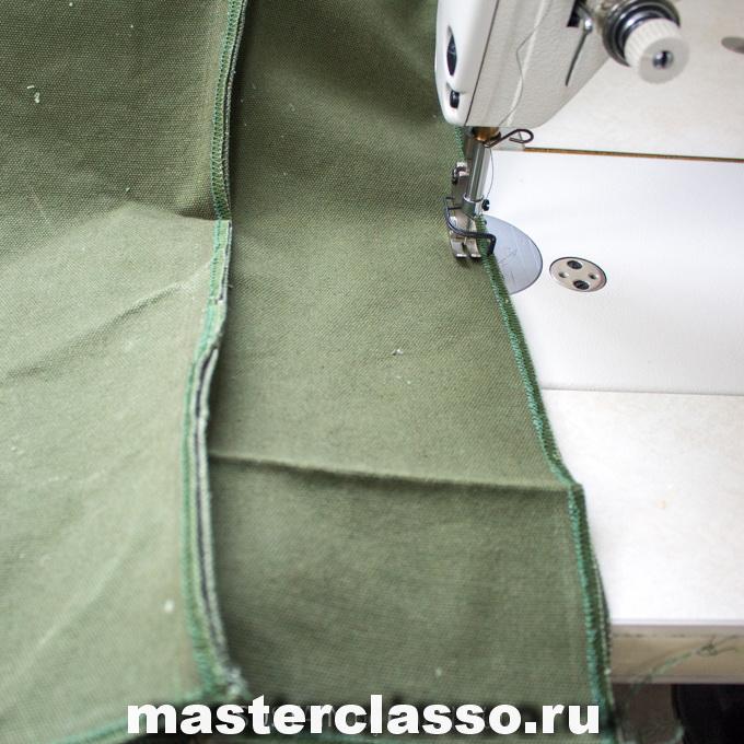 Как сшить рюкзак - сшейте вместе детали